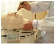 Тренажер оказания помощи при носовом кровотечении