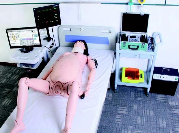 Симулятор родов СИММАМА1 (система обучения навыкам акушерства и гинекологии с компьютерным управлением)
