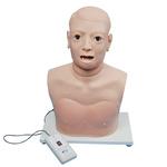 Тренажер для обследования гортани и глотки (электронный мониторинг)