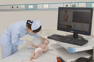 Манекен новорожденного для  оказания неотложной помощи