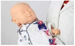 Манекен для  оценки и ухода за новорожденными младенцами