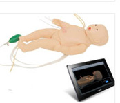 Манекен для оказания неотложной помощи детям (новорожденный) беспроводная версия